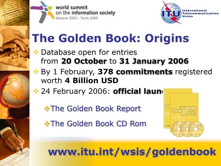 The golden book origins1
