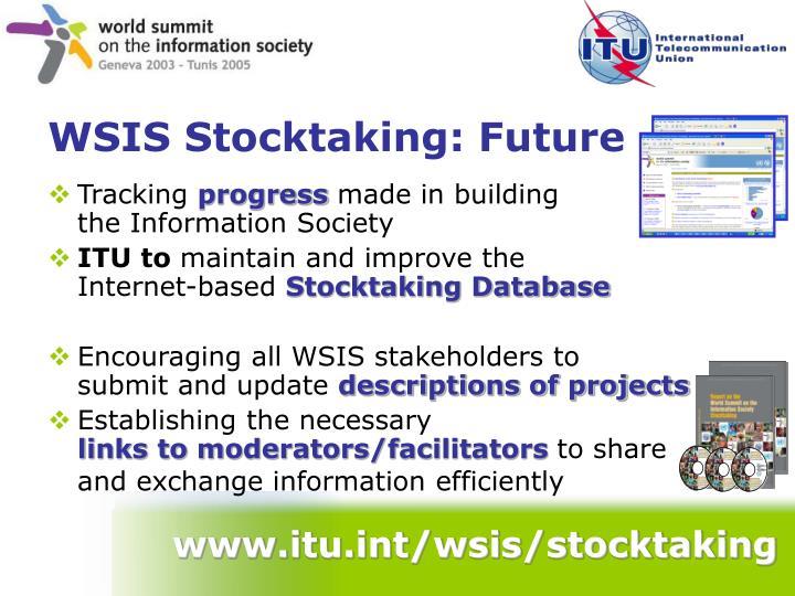 www.itu.int/wsis/stocktaking