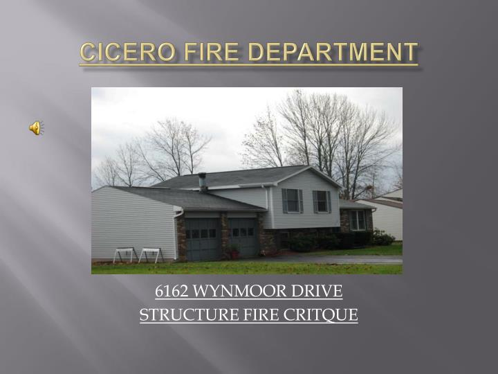 cicero fire department n.