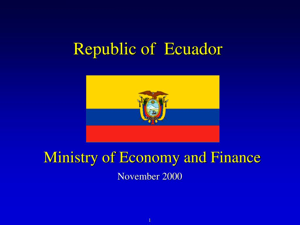 ministry of economy and finance l.