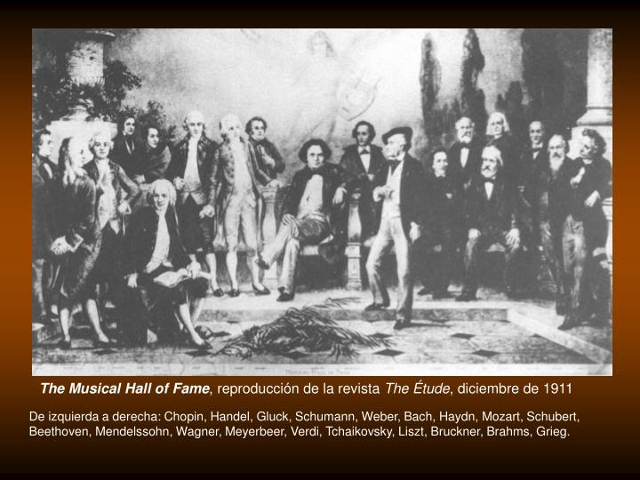 The Musical Hall of Fame