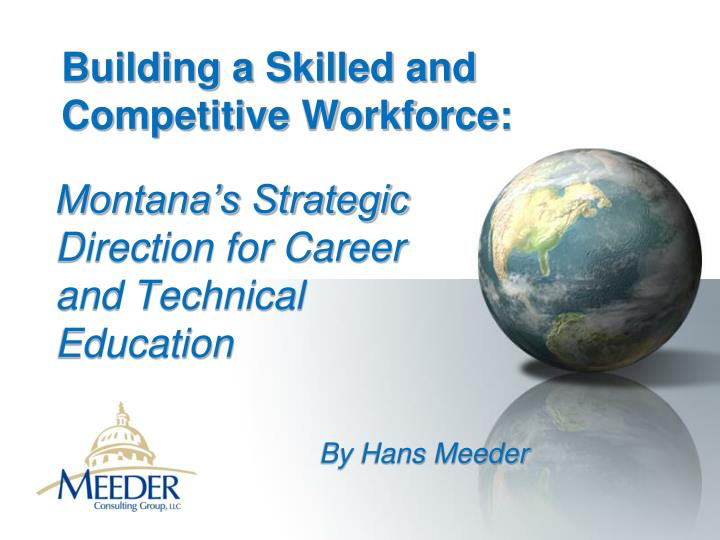 building a skilled and competitive workforce n.