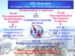 itu overview 191 member states 700 sector members and associates