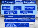 el protocolo aspectos destacados