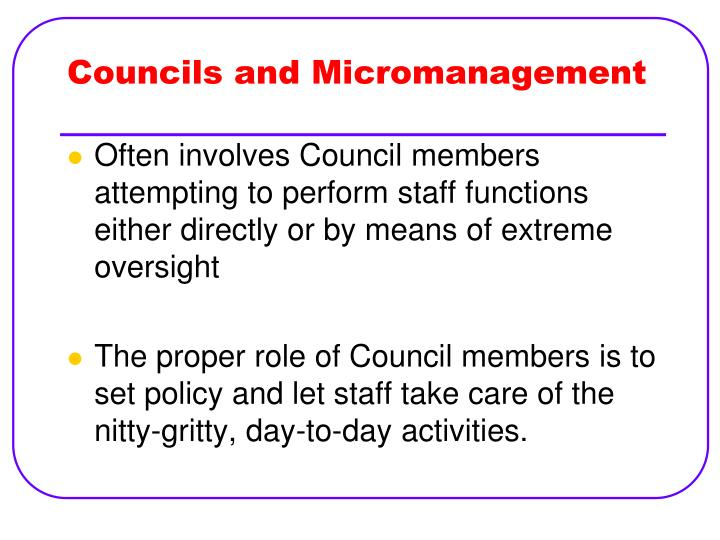 micromanagement essay Find and download essays and research papers on micromanagement.