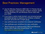 best practices management