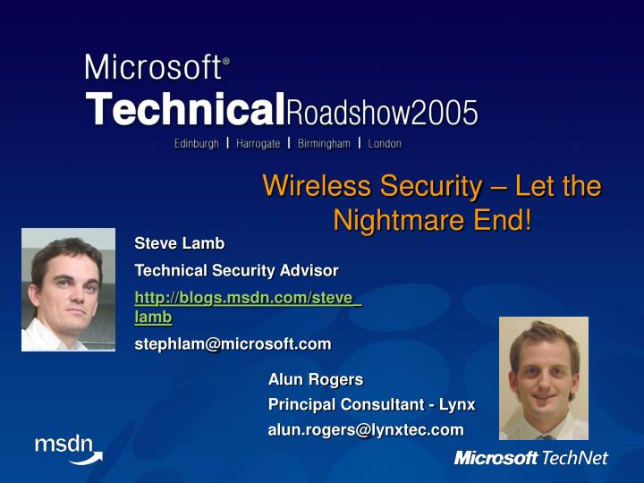 wireless security let the nightmare end