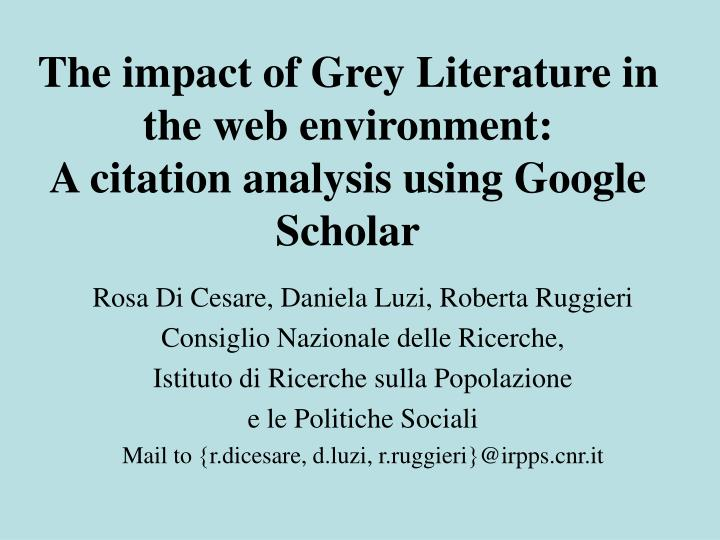 the impact of literature Oedborg skip to content rankings accounting creating new standards in literature and philosophy each of these texts had an impact on the way we.