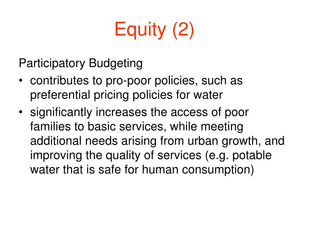 Equity (2)