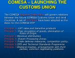 comesa launching the customs union17