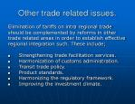 other trade related issues