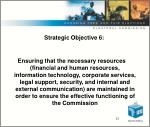 strategic objective 6
