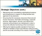 strategic objectives cont
