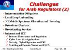 challenges for arab regulators 2