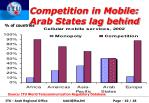 competition in mobile arab states lag behind