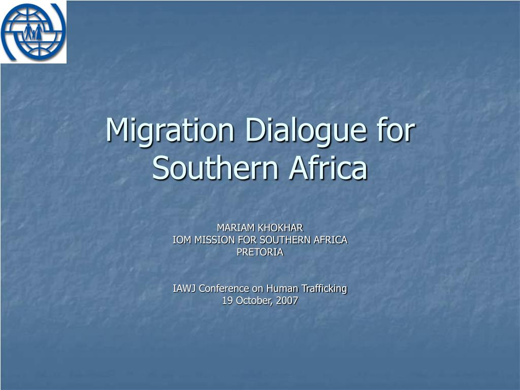 Migration Dialogue for Southern Africa
