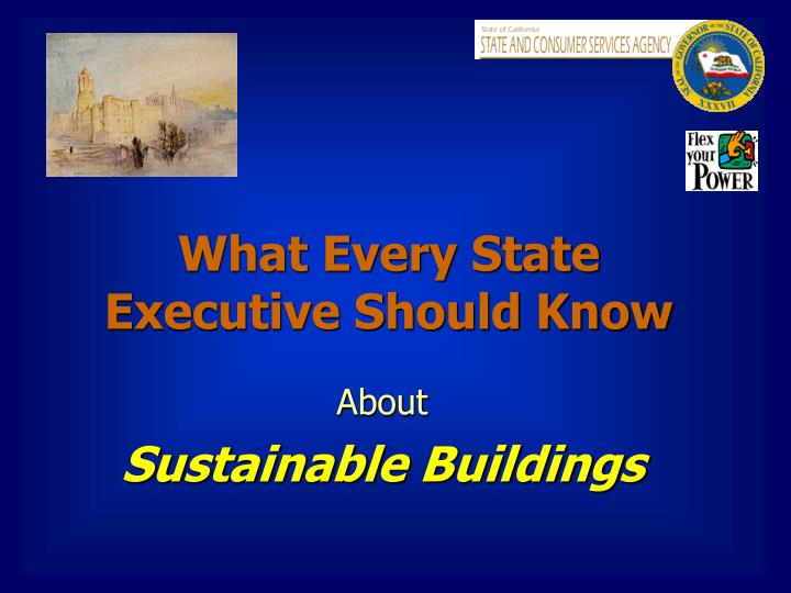 what every state executive should know n.