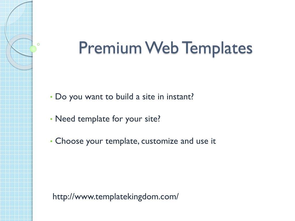 premium web templates l.