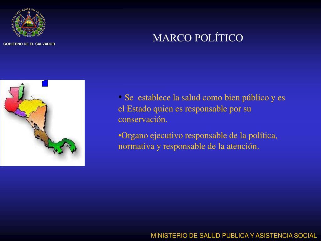 MARCO POLÍTICO