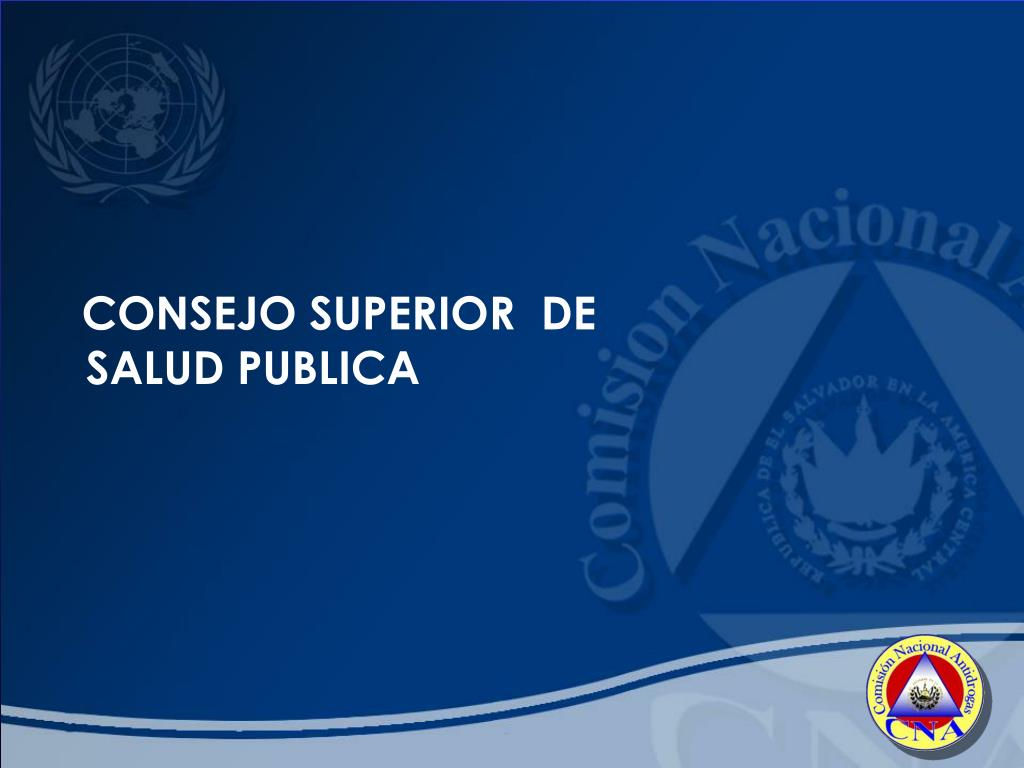 CONSEJO SUPERIOR  DE SALUD PUBLICA