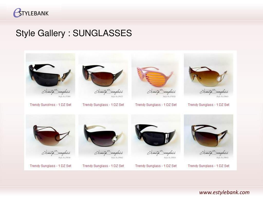 Style Gallery : SUNGLASSES