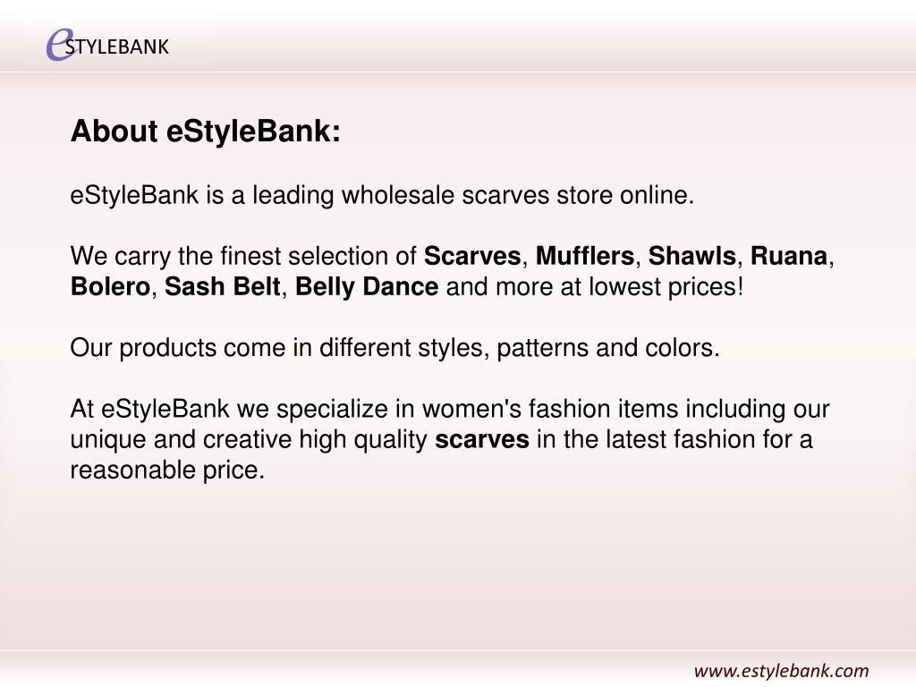 About eStyleBank: