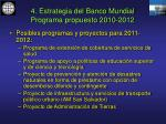 4 estrategia del banco mundial programa propuesto 2010 201225