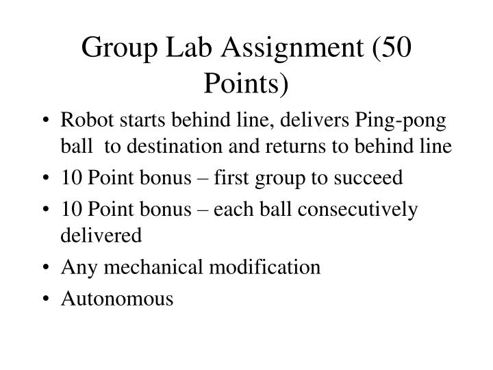 group lab assignment 50 points n.