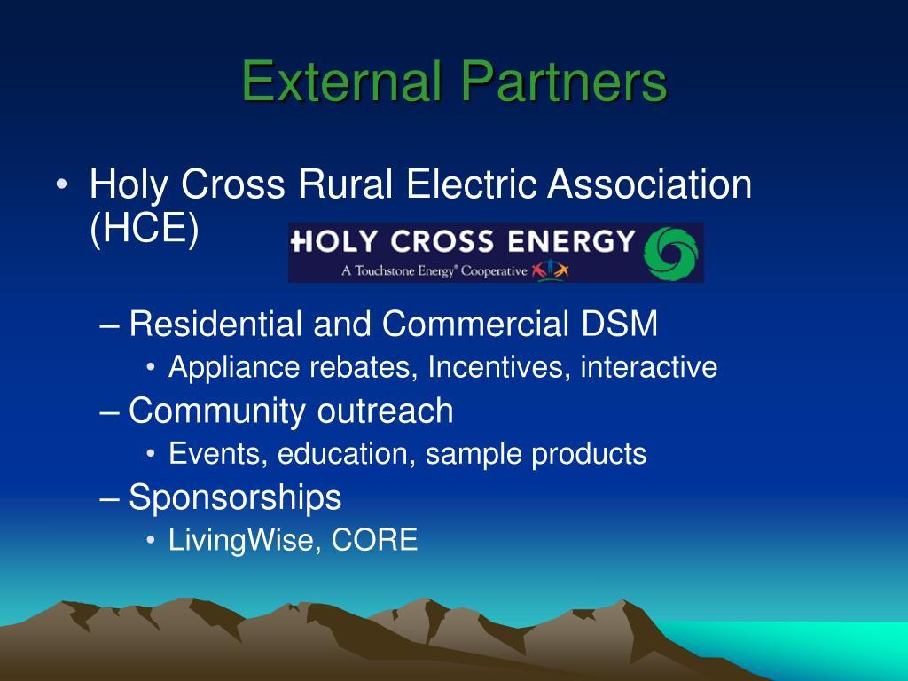 External Partners