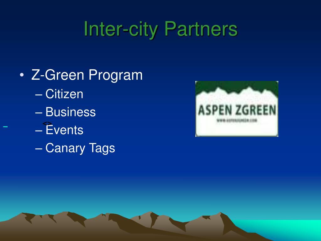Inter-city Partners