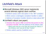 litchfield s attack