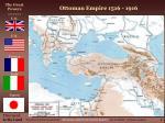 ottoman empire 1516 1916