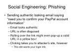 social engineering phishing