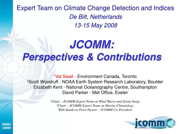 jcomm perspectives contributions n.