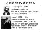 a brief history of ontology4