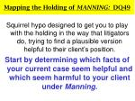 mapping the holding of manning dq4919