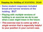 mapping the holding of manning dq4922