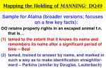 mapping the holding of manning dq4924