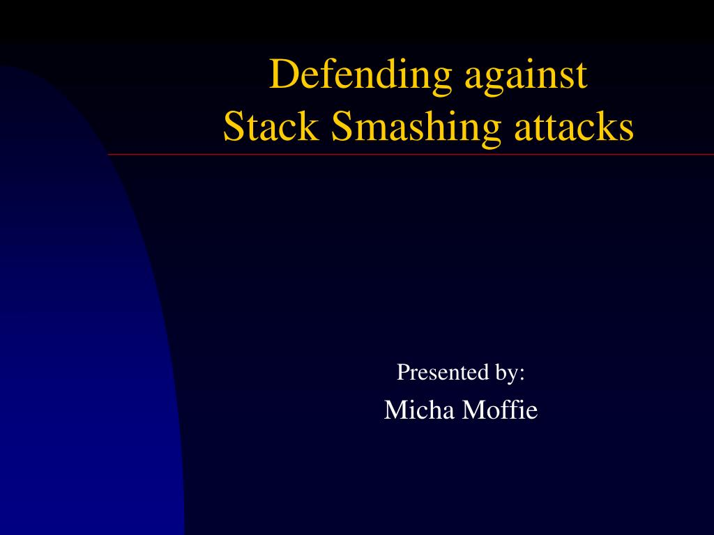 Defending against
