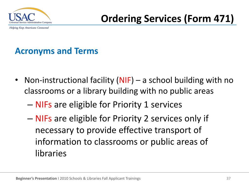 Non-instructional facility (
