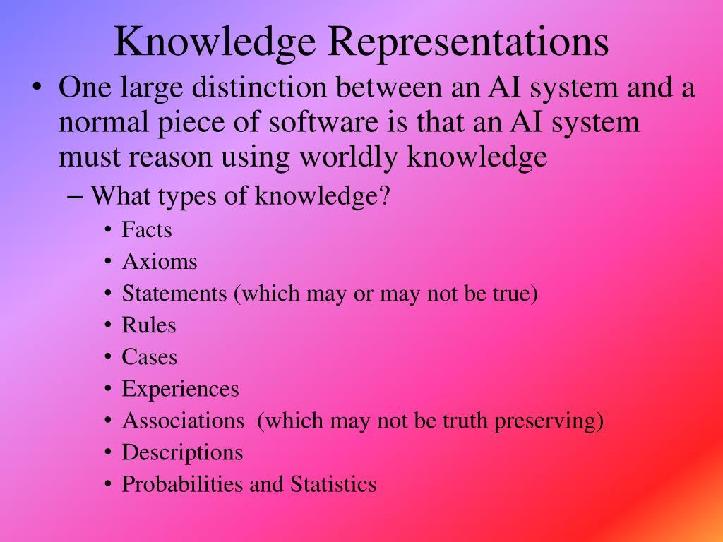 knowledge representations l.