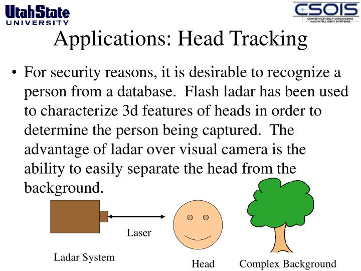 Applications: Head Tracking