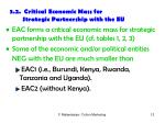 3 2 critical economic mass for strategic partnership with the eu