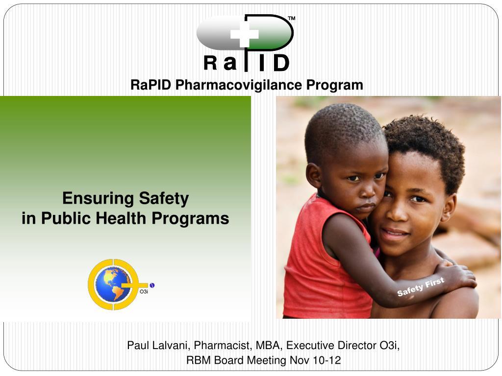 RaPID Pharmacovigilance Program