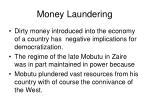 money laundering27