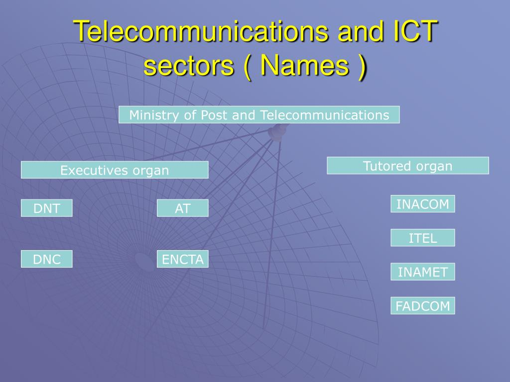 Telecommunications and ICT sectors ( Names )