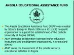 angola educational assistance fund