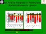 but africa s progress on poverty and social outcomes is uneven
