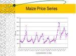 maize price series