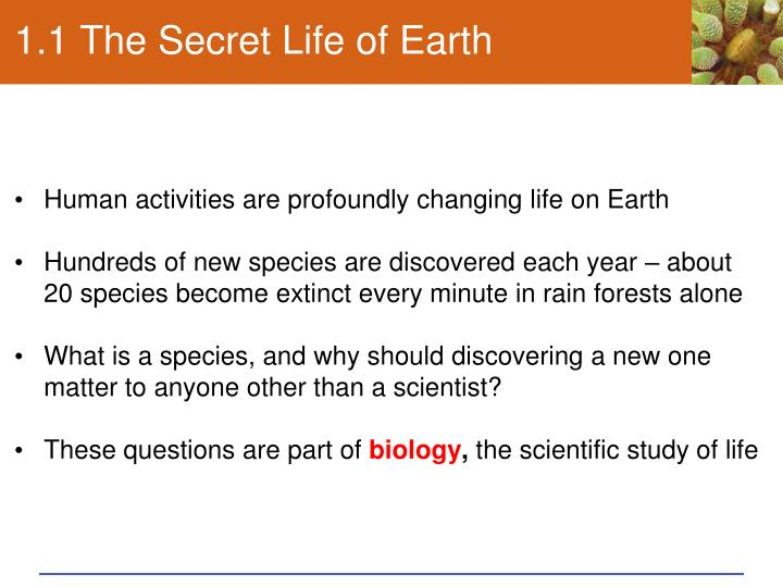 1 1 the secret life of earth n.